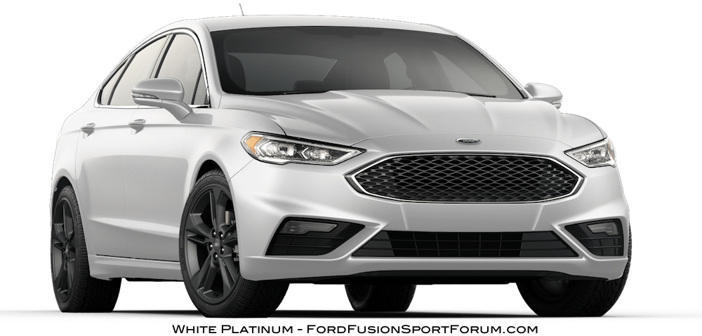 2017 ford fusion sport white platinum ford fusion. Black Bedroom Furniture Sets. Home Design Ideas