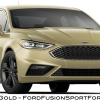 2017 Ford Fusion Sport - White Gold