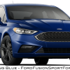 2017 Ford Fusion Sport - Lightning Blue