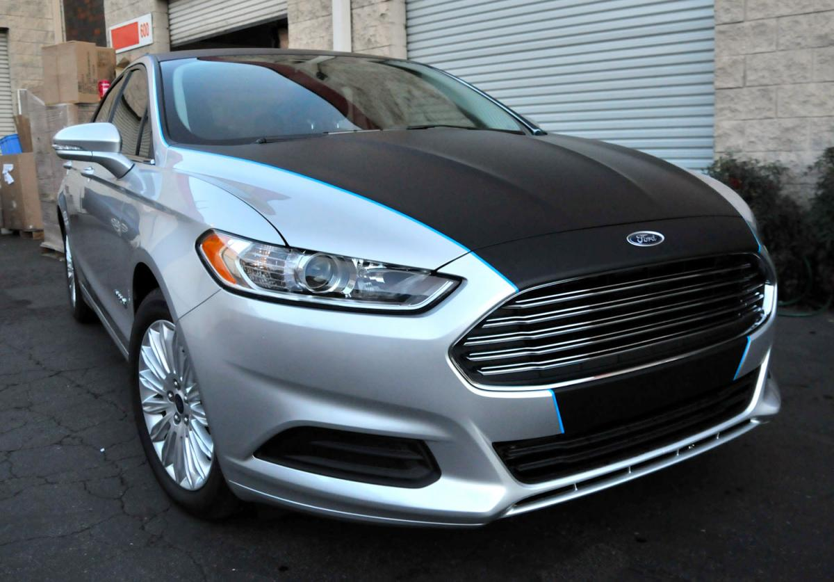 California Window Tint >> Partially vinyl wrapped 2014 Fusion - Glass, Headlights, Fog lamps, Lenses & Window Tint - Ford ...