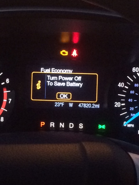 Ford Fusion S >> Battery Saver Mode - Maintenance, Recalls and TSB ...