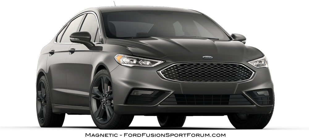 2017 Ford Fusion Sport Magnetic