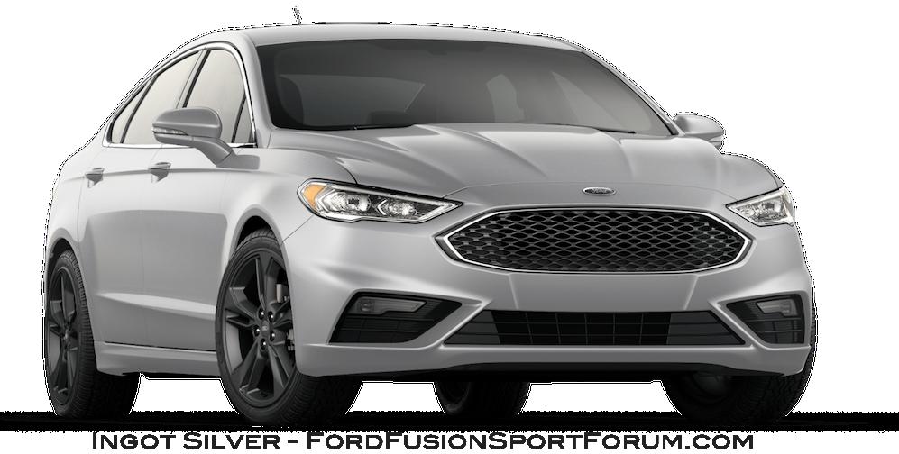 2017 Ford Fusion Sport Ingot Silver