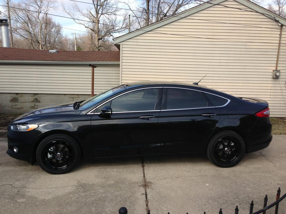 2015 Ford Fusion Rims >> 2013 Fusion SE - Gloss Black Wheels - Ford Fusion Sport ...
