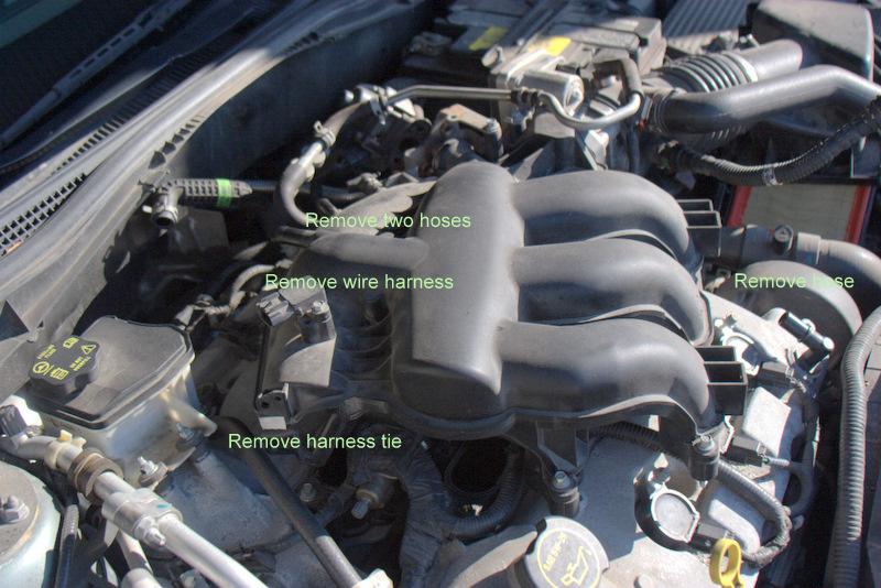 3.0 Spark Plug Change - 3.0L V6 - Ford Fusion Forum on
