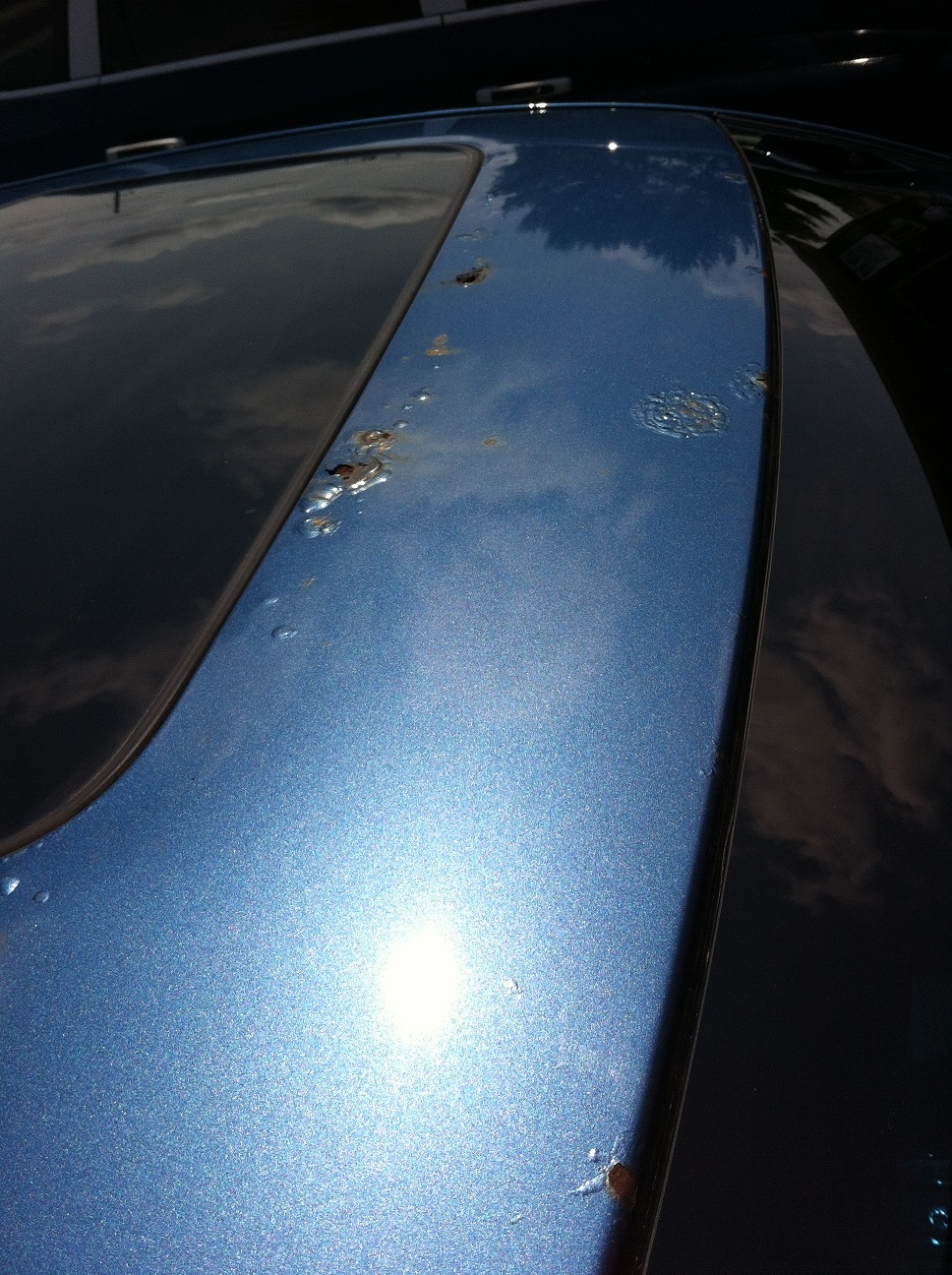 Roof Corrosion On Sunroof Models Exterior Ford Fusion