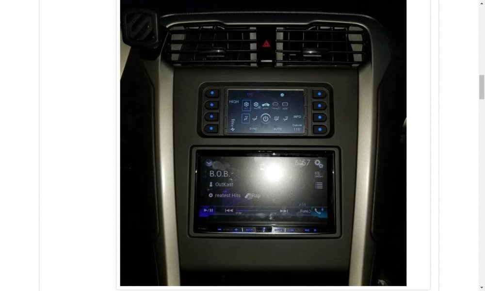 Ford Sync Update >> 2014 Fusion SE Aftermarket Radio Install - Audio, Navigation & SYNC - Ford Fusion Forum