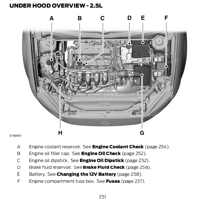 What's the pink fluid on the right side under the hood? - Articles, News &  Reviews - Ford Fusion ForumFord Fusion Forum