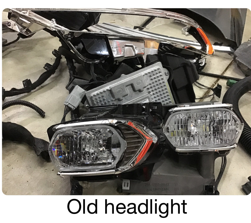 Led And Halogen Headlight Wiring Harness Interchangeable